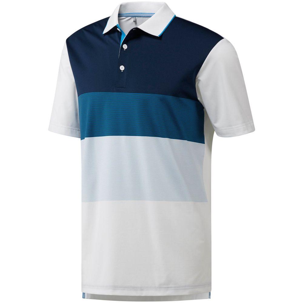 【誠実】 アディダス ゴルフ adidas メンズ ゴルフ Colorblock トップス【Ultimate365 Colorblock Golf Polo アディダス】White/Bright Blue, マイジェンヌ:4a0dcabe --- enduro.pl