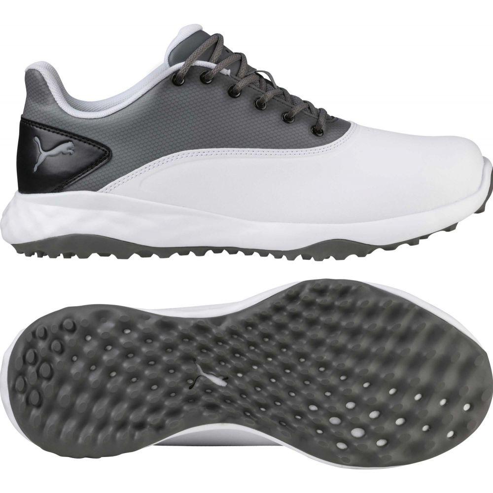 プーマ PUMA メンズ ゴルフ シューズ・靴【GRIP FUSION Golf Shoes】White/Grey