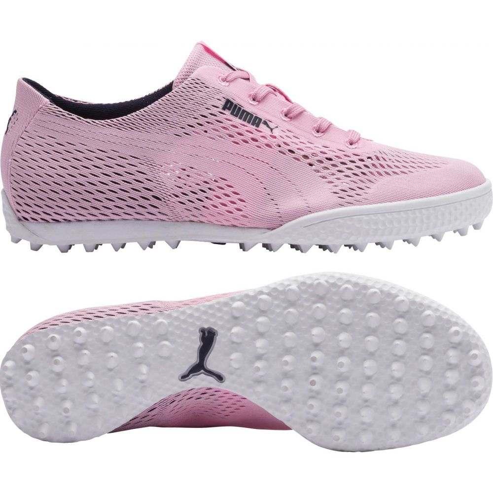 プーマ PUMA レディース ゴルフ Golf シューズ・靴【Monolite レディース プーマ Cat Woven Golf Shoes】Light Pink, 那須町:ead8061a --- officewill.xsrv.jp