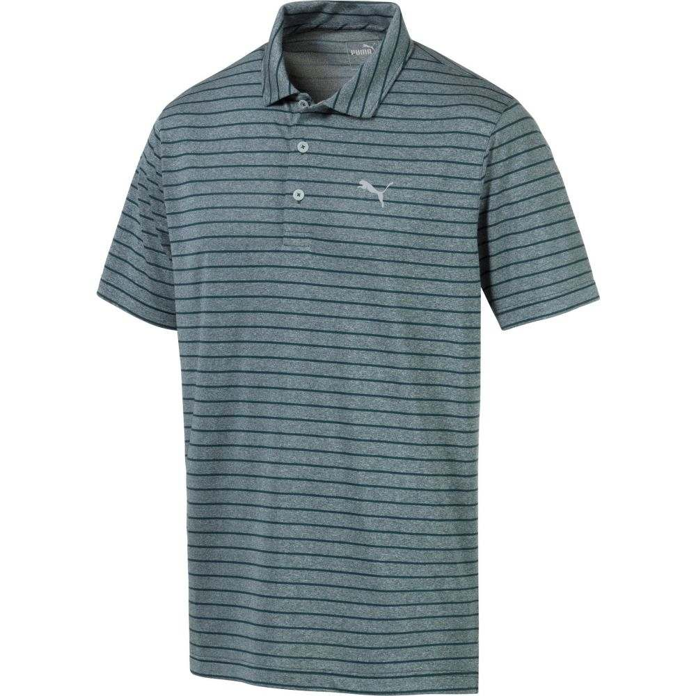 プーマ PUMA メンズ ゴルフ トップス【Rotation Stripe Golf Polo】Ponderosa Pine