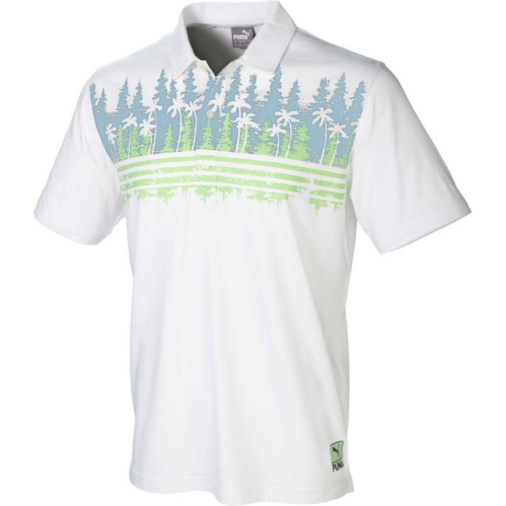 プーマ PUMA メンズ ゴルフ トップス【Play Loose Pines Golf Polo】Ashley Blue