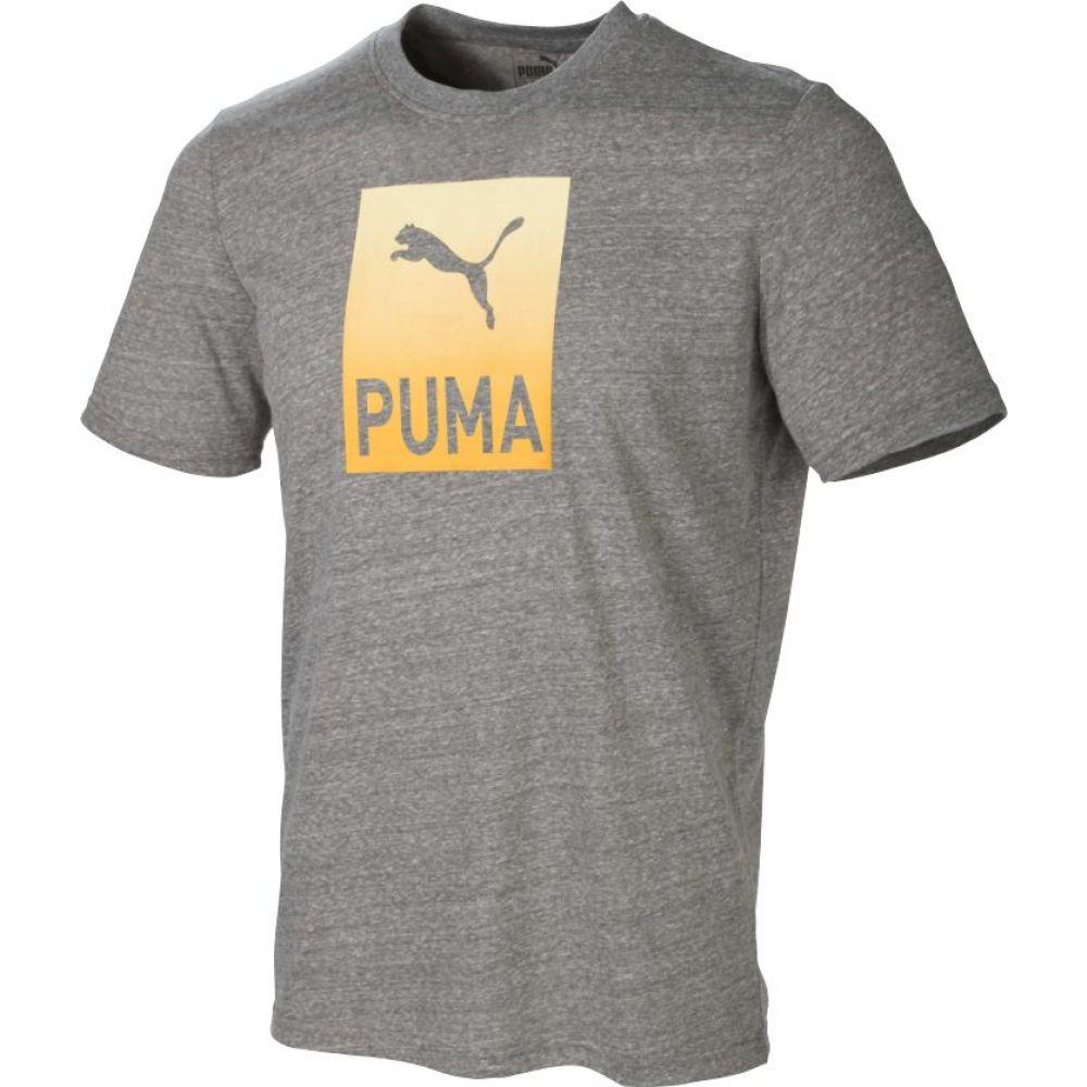 【オンライン限定商品】 プーマ PUMA プーマ メンズ ゴルフ トップス【Play Heather Loose PUMA Tropics Golf T-Shirt】Medium Gray Heather, ナガイの海苔:8bea2792 --- enduro.pl