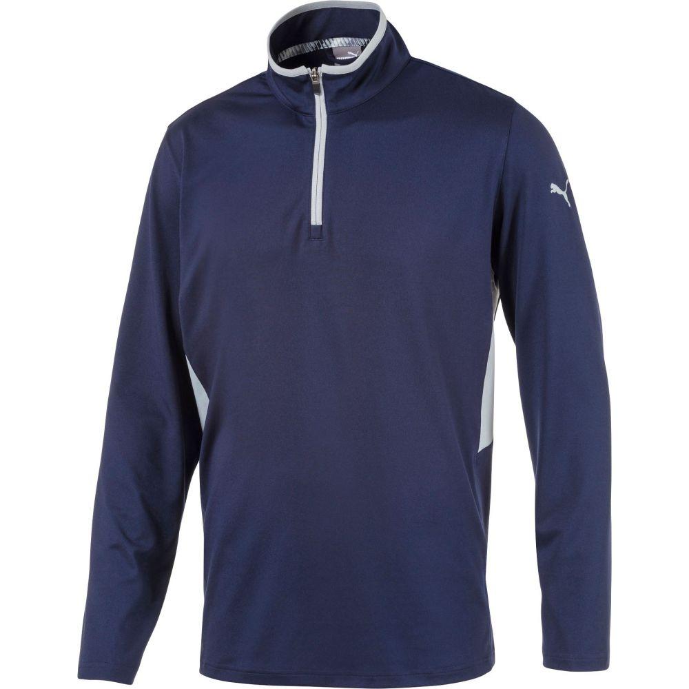 値頃 プーマ PUMA メンズ ゴルフ ゴルフ トップス【Rotation Zip Zip Golf Pullover Golf】Peacoat Heather, モモイシマチ:43f51dfd --- enduro.pl