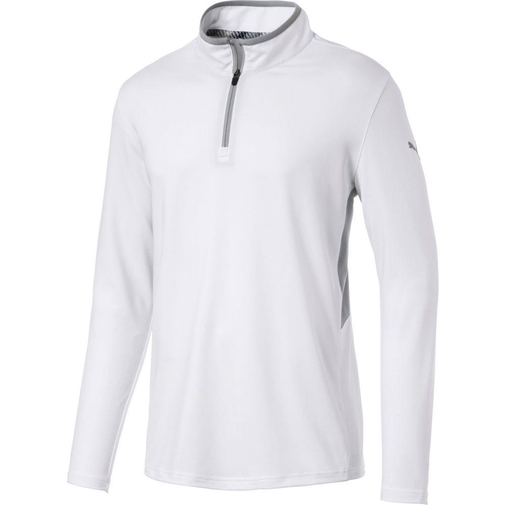 欲しいの プーマ PUMA メンズ ゴルフ トップス ゴルフ【Rotation Zip メンズ Golf Pullover プーマ】Bright White, イワシ屋本舗:9aab15fe --- enduro.pl