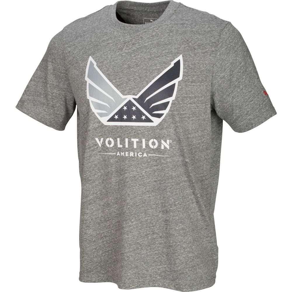 【公式ショップ】 プーマ Heather ゴルフ PUMA メンズ T-Shirt】Medium ゴルフ トップス【Volition Golf T-Shirt】Medium Gray Heather, 太田町:466e856b --- enduro.pl