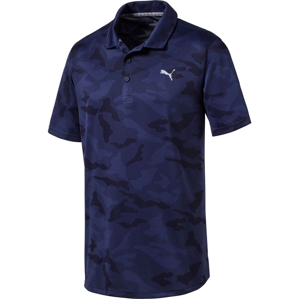 【タイムセール!】 プーマ PUMA Camo Polo】Peacoat メンズ ゴルフ トップス【Alterknit Camo Golf Golf Polo】Peacoat, 山梨市:aa729e46 --- enduro.pl