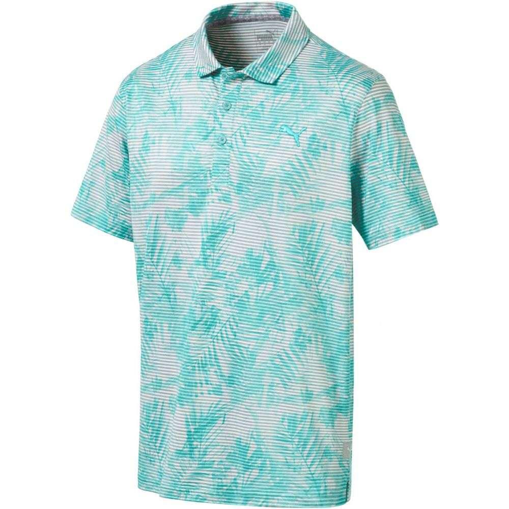 超可爱の プーマ PUMA メンズ ゴルフ トップス【Fronds メンズ Golf Polo】Blue PUMA ゴルフ Turquoise, 欧都香ぴーなっつ:32835af2 --- enduro.pl