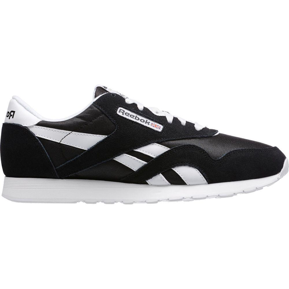 リーボック Reebok メンズ シューズ・靴 スニーカー【Classic Nylon Shoes】Black/White
