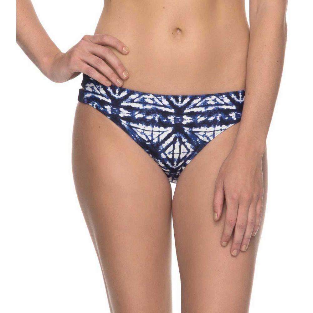 ロキシー Roxy レディース ボトムのみ 水着・ビーチウェア【fitness 70s bikini bottoms】Dress Blues