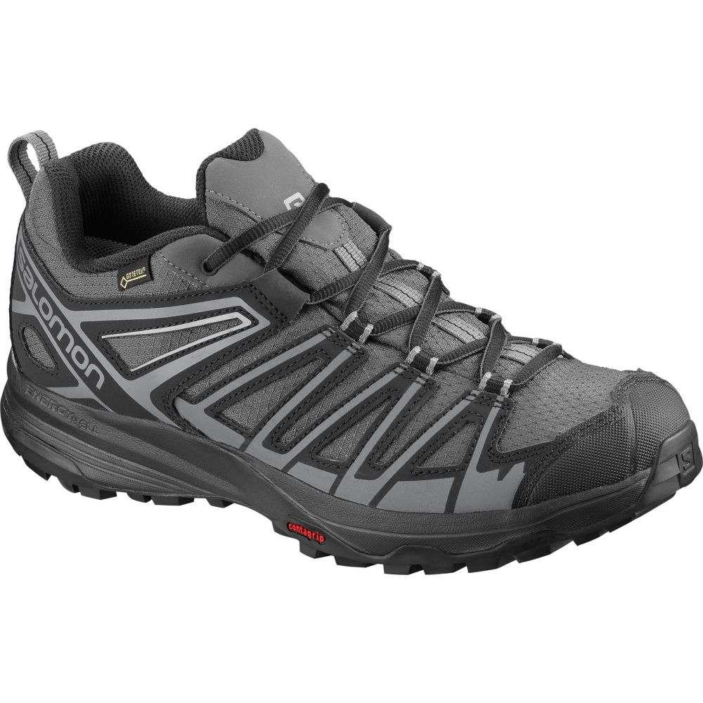 サロモン Salomon メンズ ハイキング・登山 シューズ・靴【x crest gtx waterproof hiking shoes】Magnet/Black
