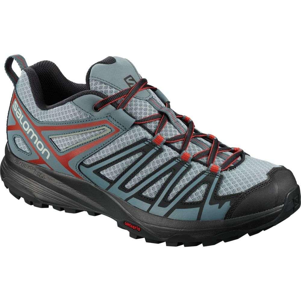 サロモン Salomon メンズ ハイキング・登山 シューズ・靴【X Crest Hiking Shoes】Lead