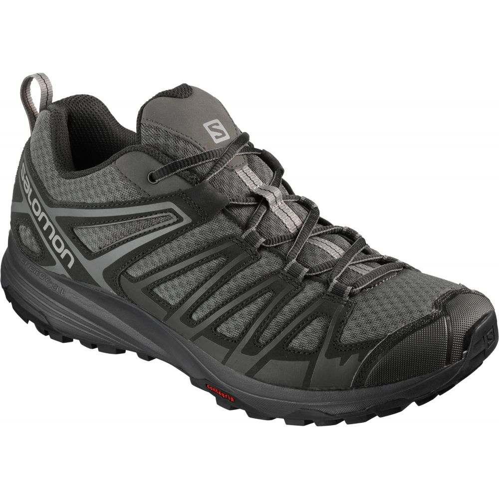 サロモン メンズ ハイキング・登山 シューズ・靴 【サイズ交換無料】 サロモン Salomon メンズ ハイキング・登山 シューズ・靴【x crest hiking shoes】Magnet/Black