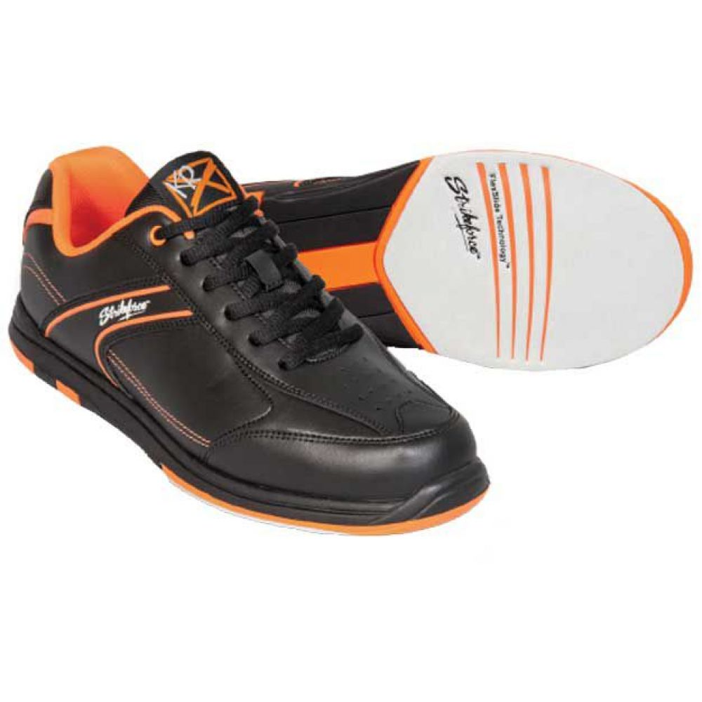 ストライクフォース Strikeforce メンズ ボウリング シューズ・靴【kr flyer bowling shoes】Black/Orange