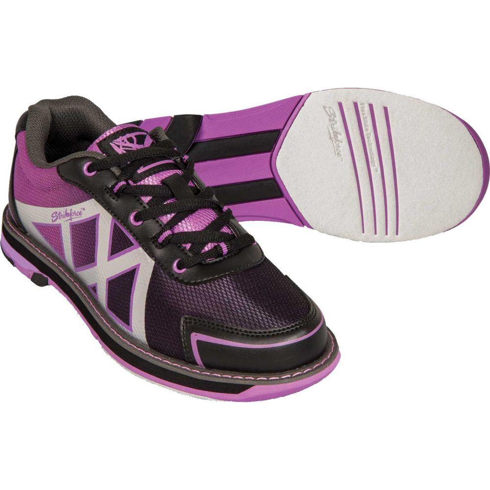 ストライクフォース Strikeforce レディース ボウリング シューズ・靴【kross bowling shoes】Black/Purple
