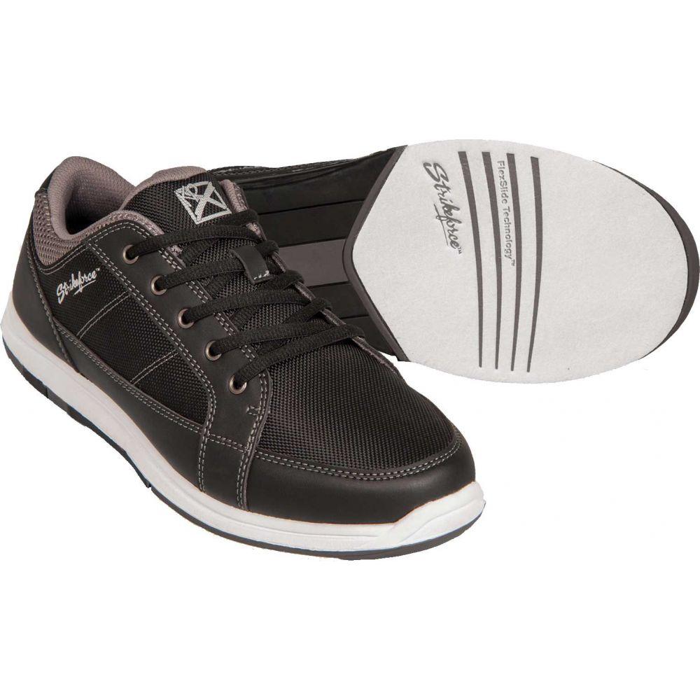 ストライクフォース Strikeforce メンズ ボウリング シューズ・靴【Spartan Bowling Shoes】Black/Charcoal