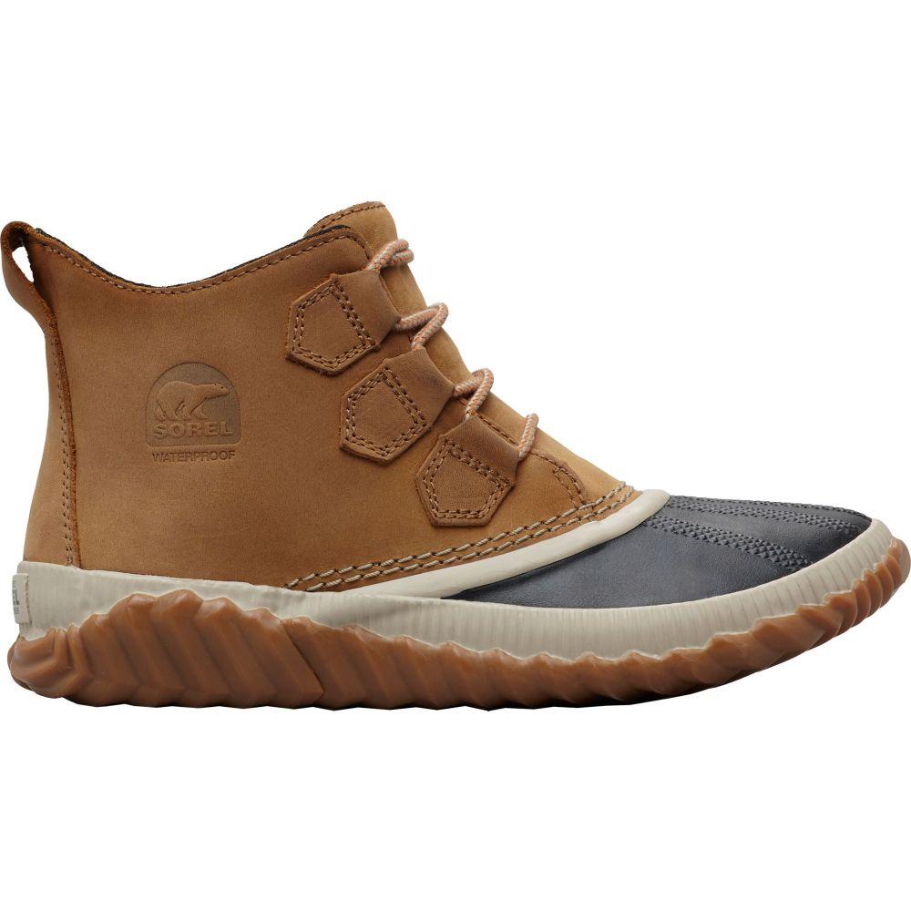 ソレル SOREL レディース シューズ・靴 ブーツ【Out N About Plus Waterproof Winter Boots】Elk