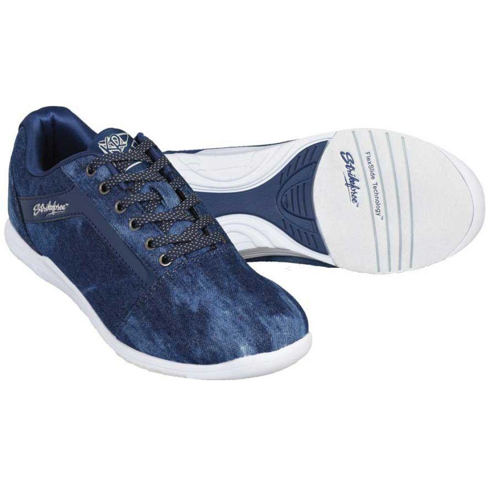 ストライクフォース Strikeforce レディース ボウリング シューズ・靴【nova lite bowling shoes】Denim