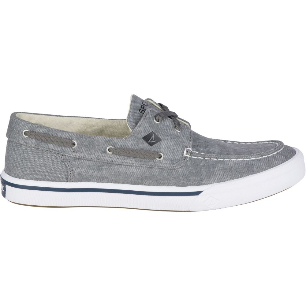 スペリー Sperry Top-Sider メンズ Sperry Bahama シューズ・靴 デッキシューズ【Sperry Boat Bahama II Boat Washed Casual Shoes】Grey, 下館市:5be0ac00 --- officewill.xsrv.jp
