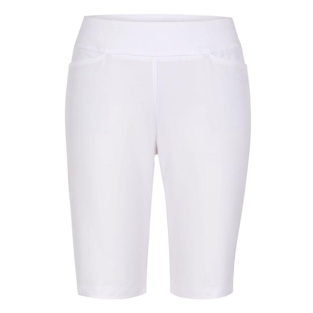 テイル Tail レディース ゴルフ ボトムス・パンツ【Essential Golf Shorts - Extended Sizes】Chalk