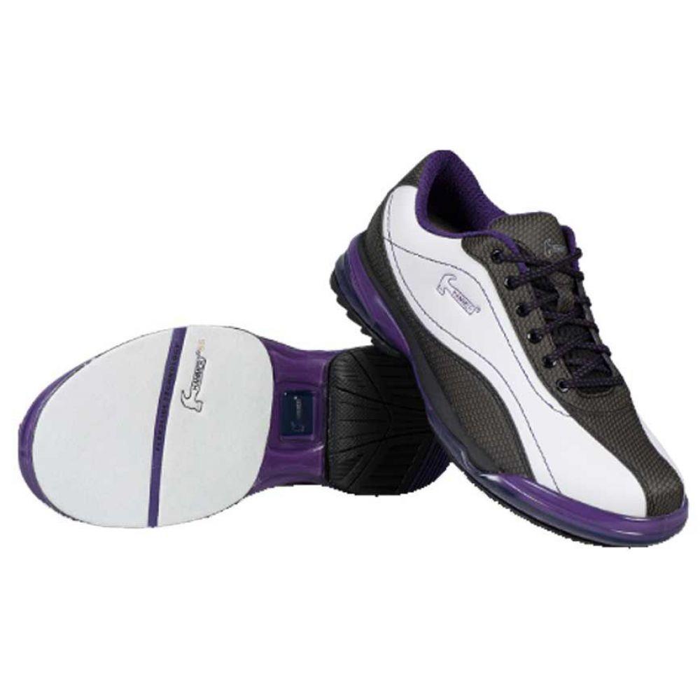ストライクフォース Strikeforce レディース ボウリング シューズ・靴【Hammer Lady Force Right Hand Bowling Shoes】White/Black/Purple