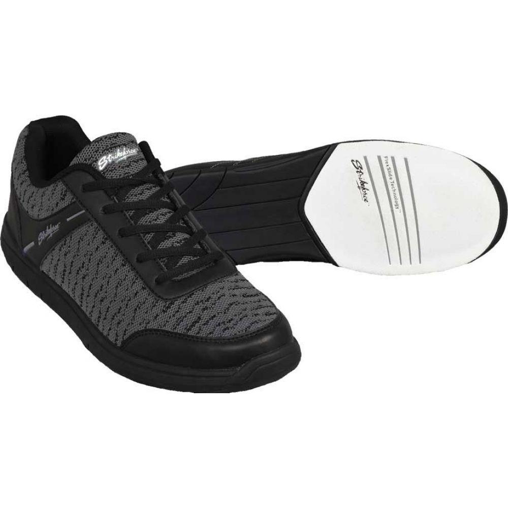 ストライクフォース Strikeforce メンズ ボウリング シューズ・靴【Flyer Mesh Bowling Shoes】Black