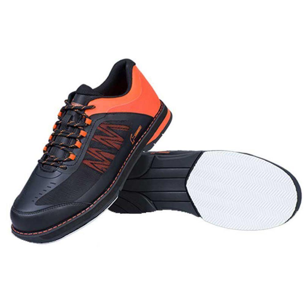 ストライクフォース Strikeforce メンズ ボウリング シューズ・靴【Hammer Rogue Right Hand Performance Bowling Shoes】Black/Orange