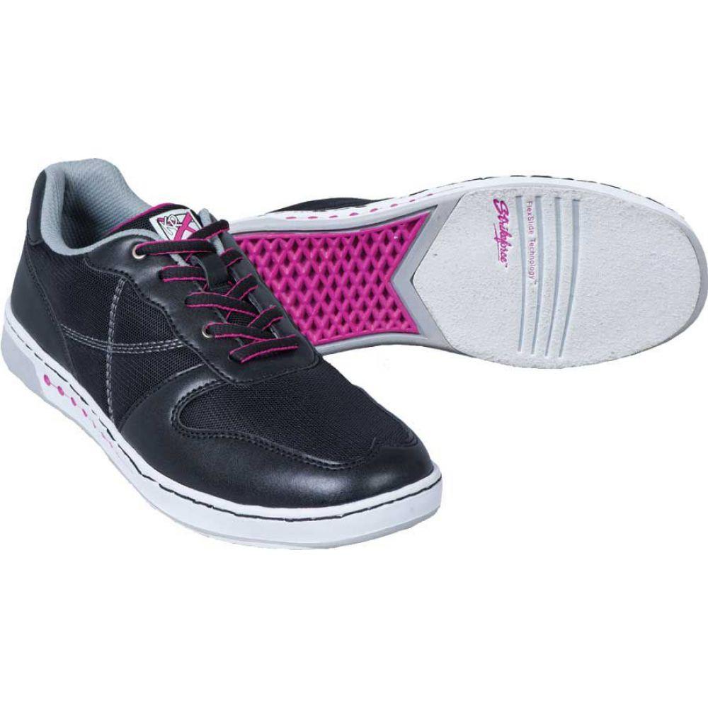 ストライクフォース Strikeforce レディース ボウリング シューズ・靴【opal bowling shoes】Black/Hot Pink