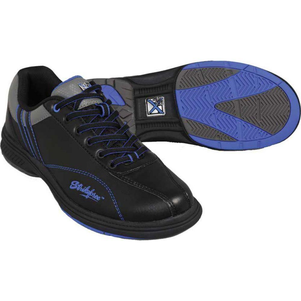 ストライクフォース Strikeforce メンズ ボウリング シューズ・靴【Raptor Bowling Shoes】Black/Royal
