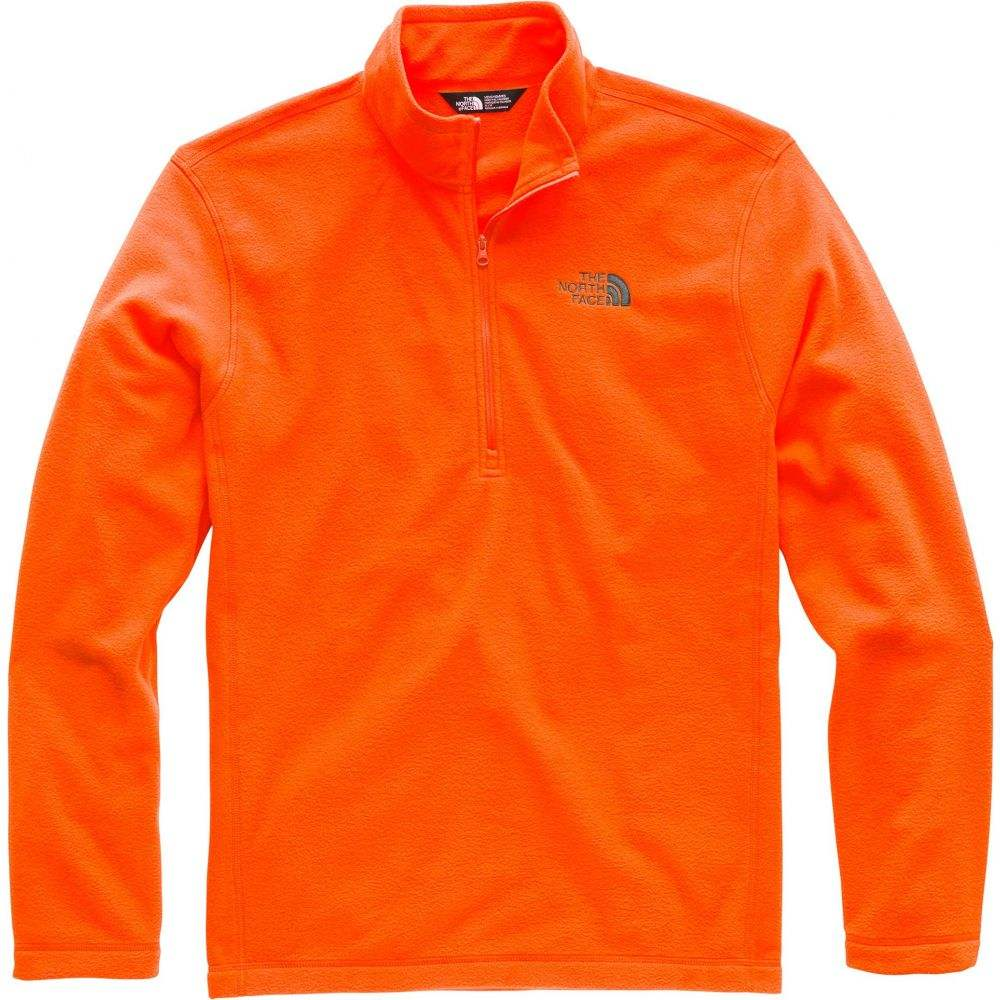 ザ ノースフェイス The North Face メンズ トップス【TKA 100 Glacier Quarter Zip Pullover】Persian Orange