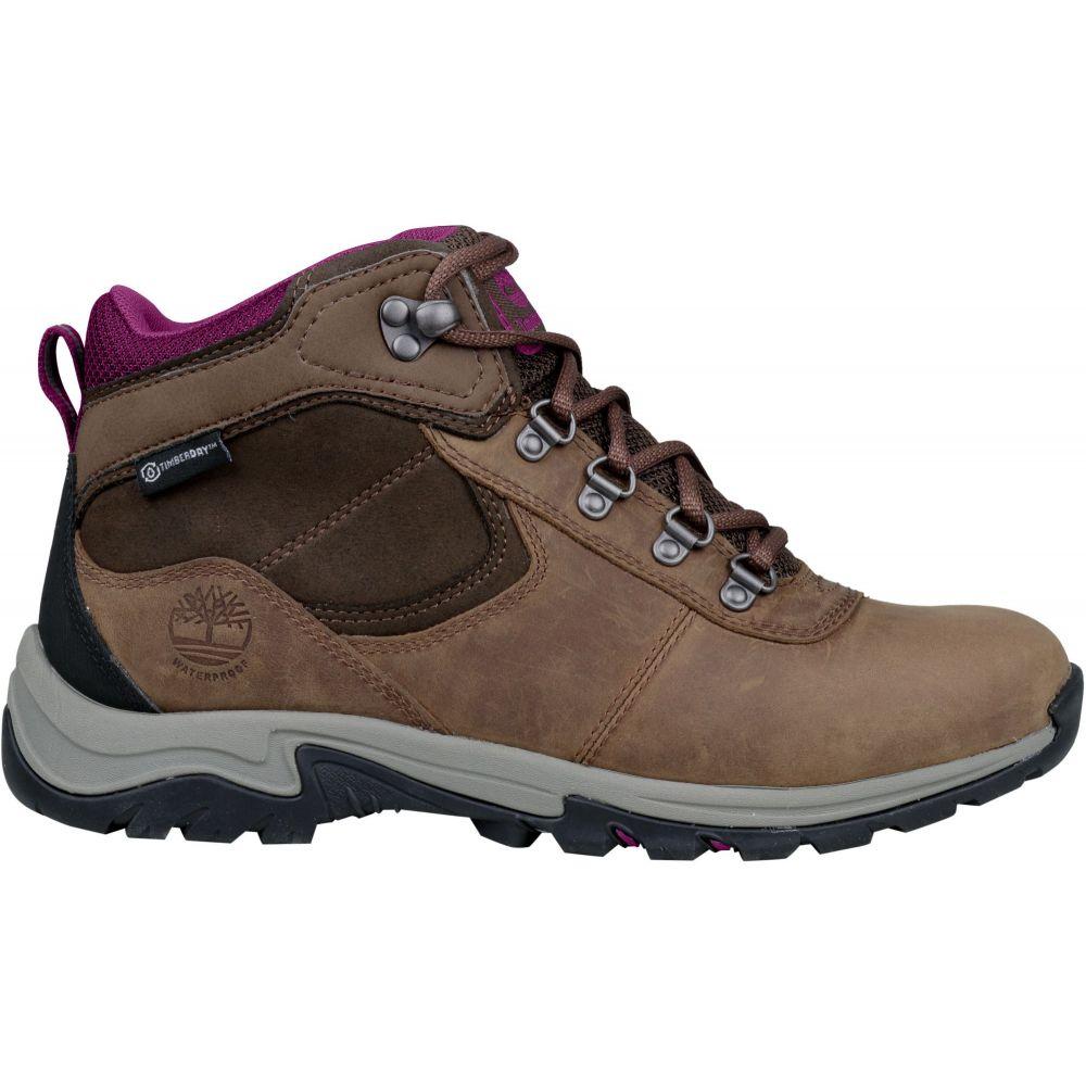 ティンバーランド Timberland レディース ハイキング・登山 ブーツ シューズ・靴【mt. maddsen mid leather waterproof hiking boots】Dark Brown