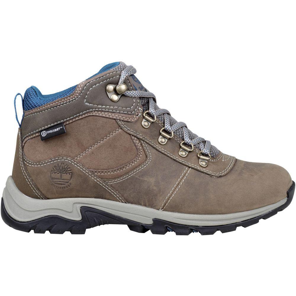 ティンバーランド Timberland レディース ハイキング・登山 ブーツ シューズ・靴【mt. maddsen mid leather waterproof hiking boots】Medium Grey