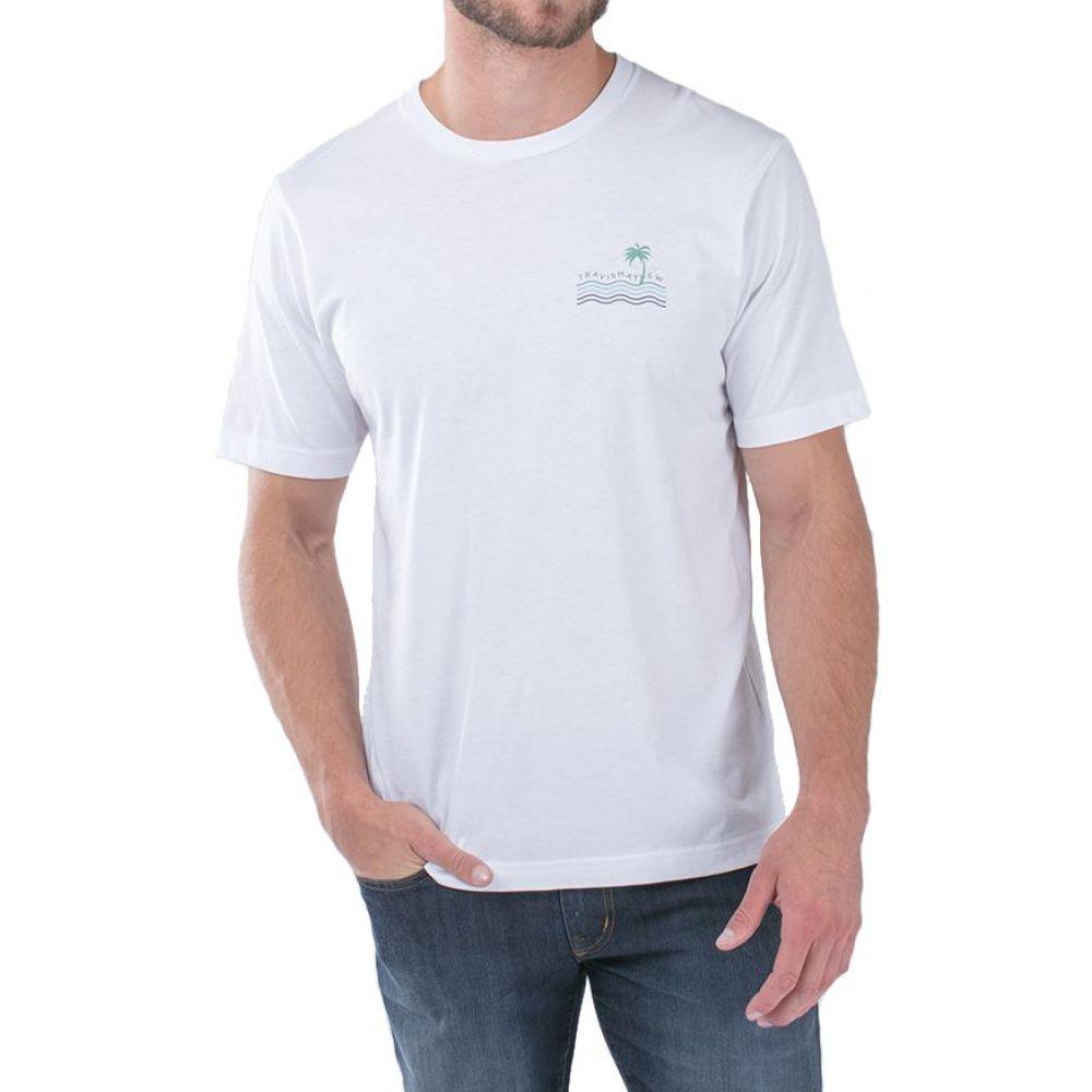 トラビスマシュー TravisMathew メンズ ゴルフ トップス【Double Take Golf T-Shirt】White