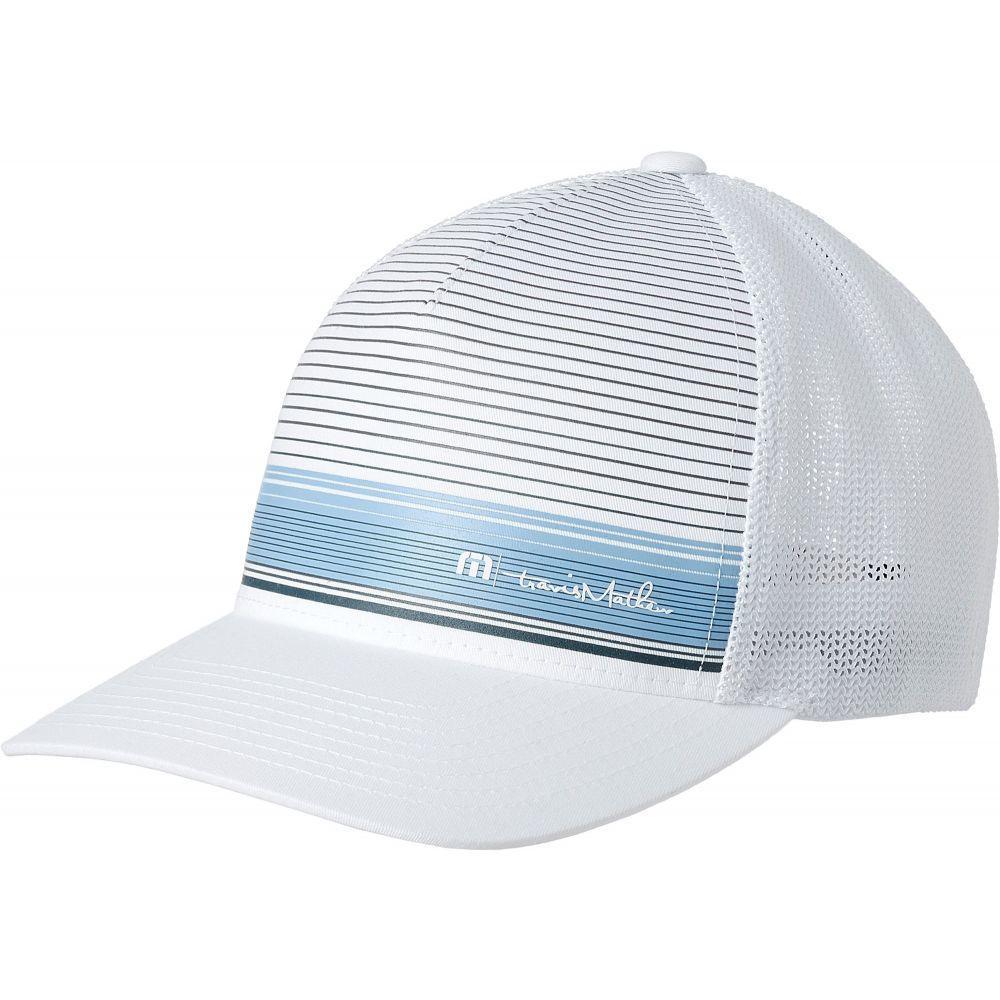 トラビスマシュー TravisMathew メンズ 帽子 キャップ【Beauvais Flexfit Golf Hat】White