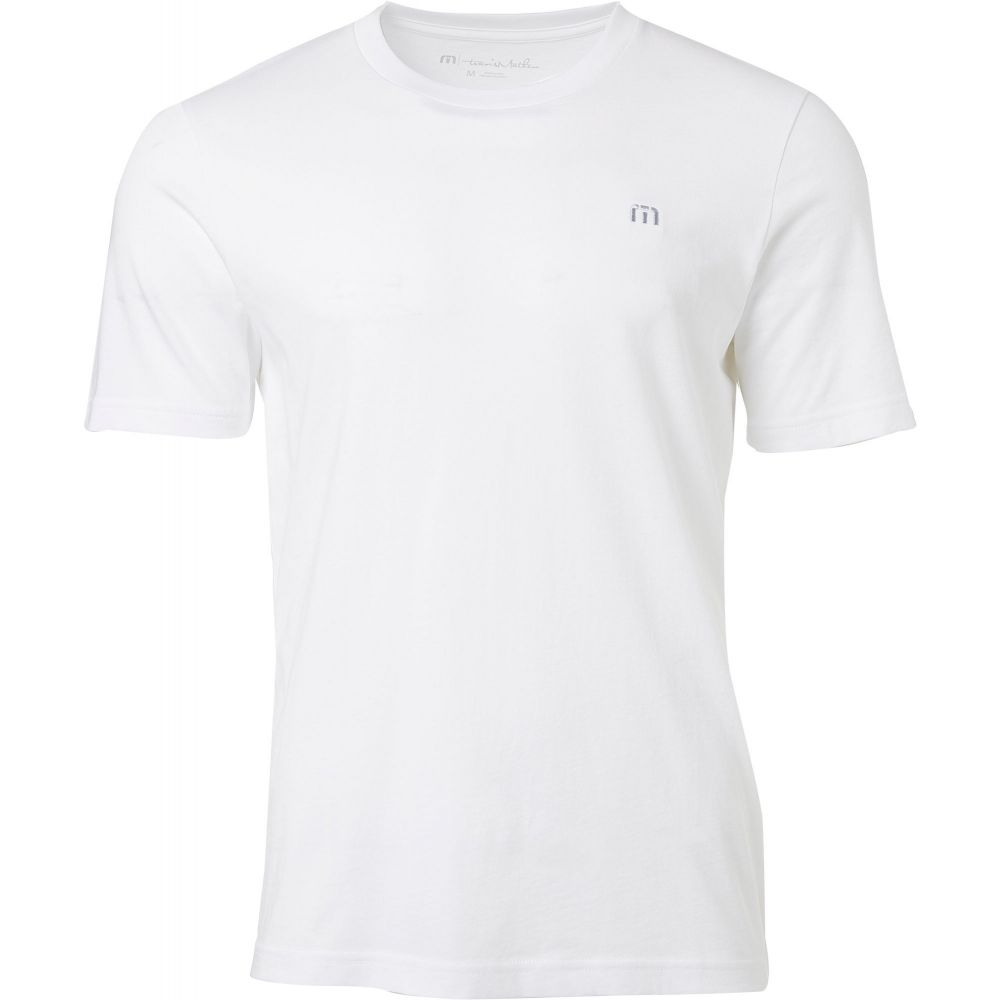 トラビスマシュー TravisMathew メンズ ゴルフ トップス【Pica Golf T-Shirt】White