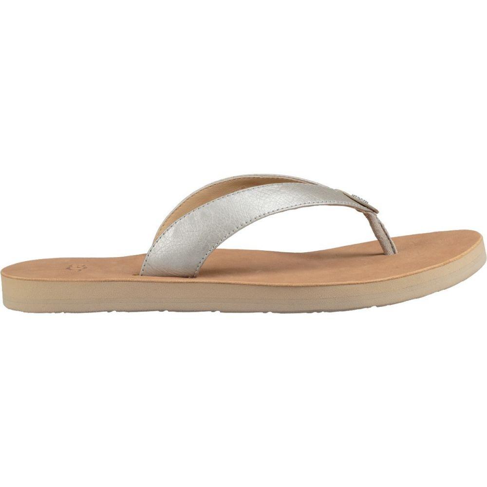 アグ UGG レディース シューズ・靴 ビーチサンダル【Tawney Metallic Flip Flops】Silver