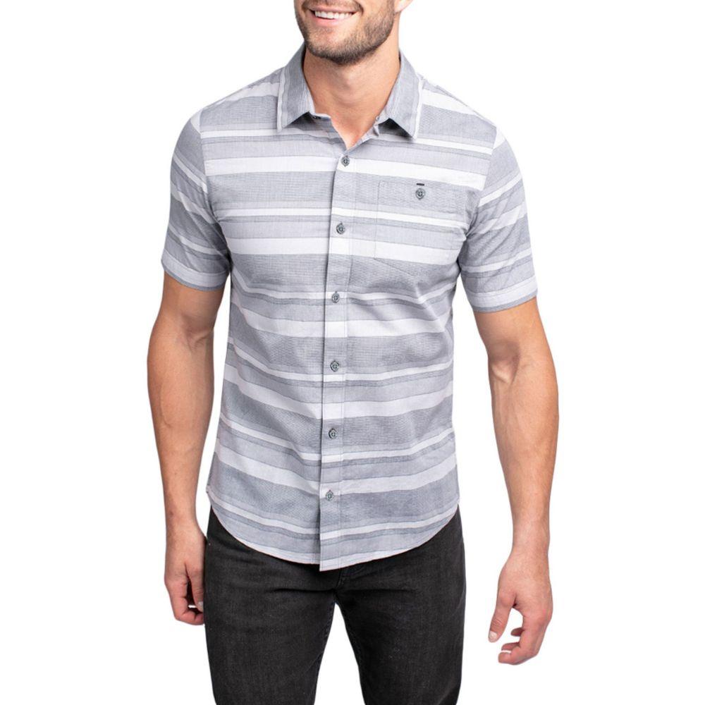 トラビスマシュー TravisMathew メンズ ゴルフ トップス【mahe short sleeve button down golf shirt】Black