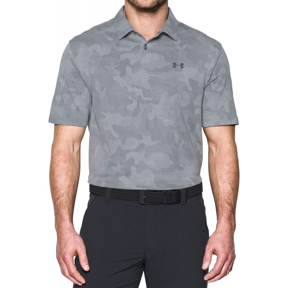 アンダーアーマー Under Armour メンズ トップス ポロシャツ【Threadborne Camo Jacquard Polo】Steel