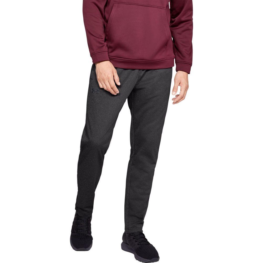 アンダーアーマー Under Armour メンズ フィットネス・トレーニング ボトムス・パンツ【Armour Fleece Twist Print Pants】Charcoal/Black