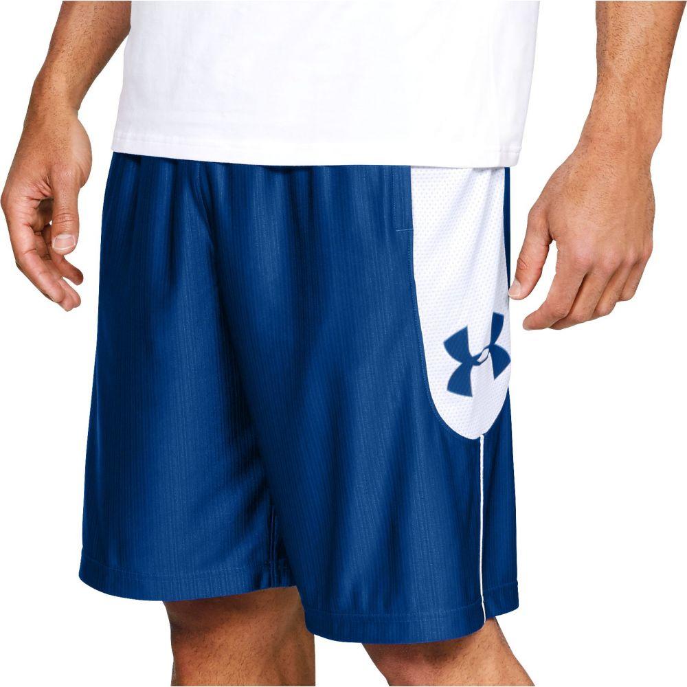 アンダーアーマー Under Armour メンズ バスケットボール ボトムス・パンツ【Perimeter Basketball Shorts】Royal/White/Royal