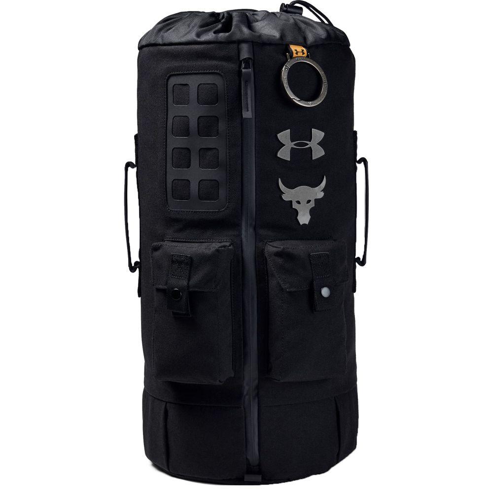 アンダーアーマー Under Armour メンズ バッグ【Project Rock 60 Gym Bag】Black/Black