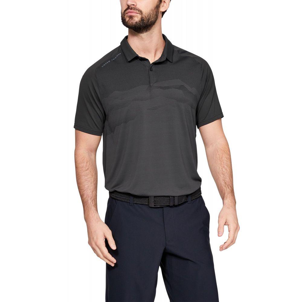 アンダーアーマー Under Armour メンズ ゴルフ ポロシャツ トップス【iso-chill airlift golf polo】Jet Gray