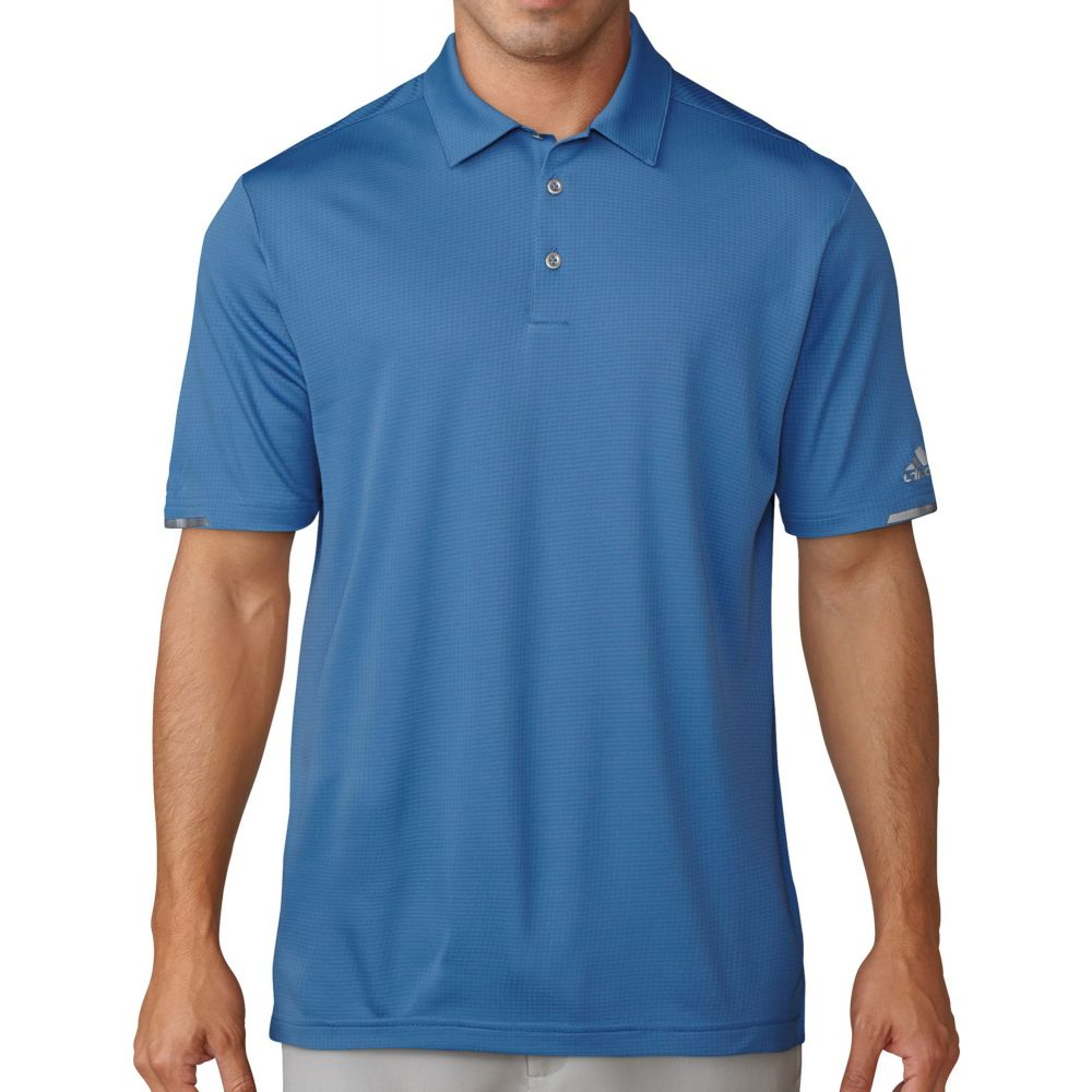 アディダス adidas メンズ ゴルフ ポロシャツ トップス【climachill solid golf polo】Trace Royal