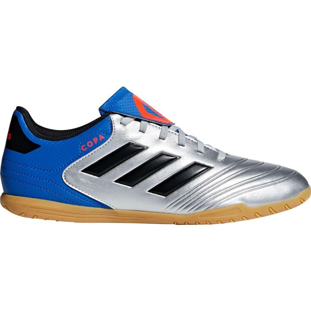 アディダス adidas メンズ サッカー シューズ・靴【Copa Tango 18.4 Indoor Soccer Shoes】Silver/Blue