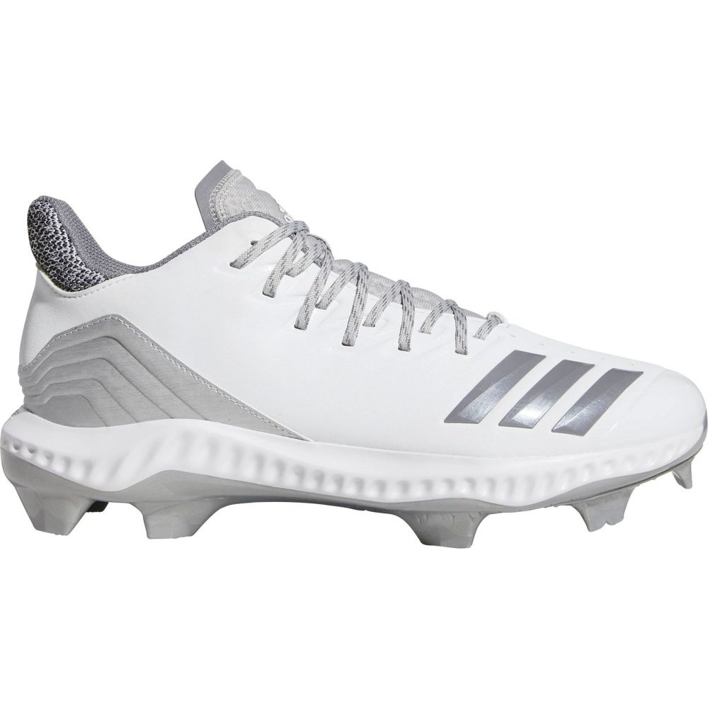 アディダス adidas メンズ 野球 シューズ・靴【Icon Bounce Baseball Cleats】White/Silver