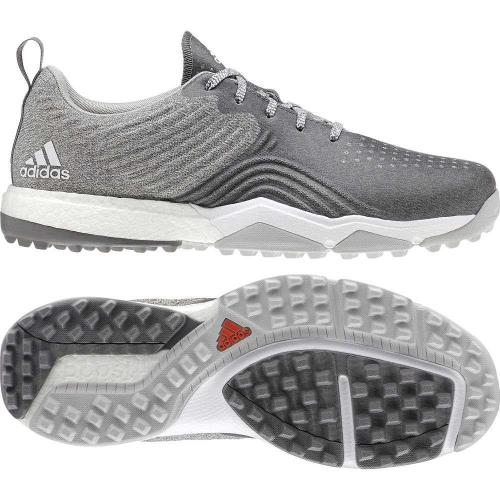 アディダス adidas メンズ ゴルフ シューズ・靴【adipower 4orged S Golf Shoes】Grey/White