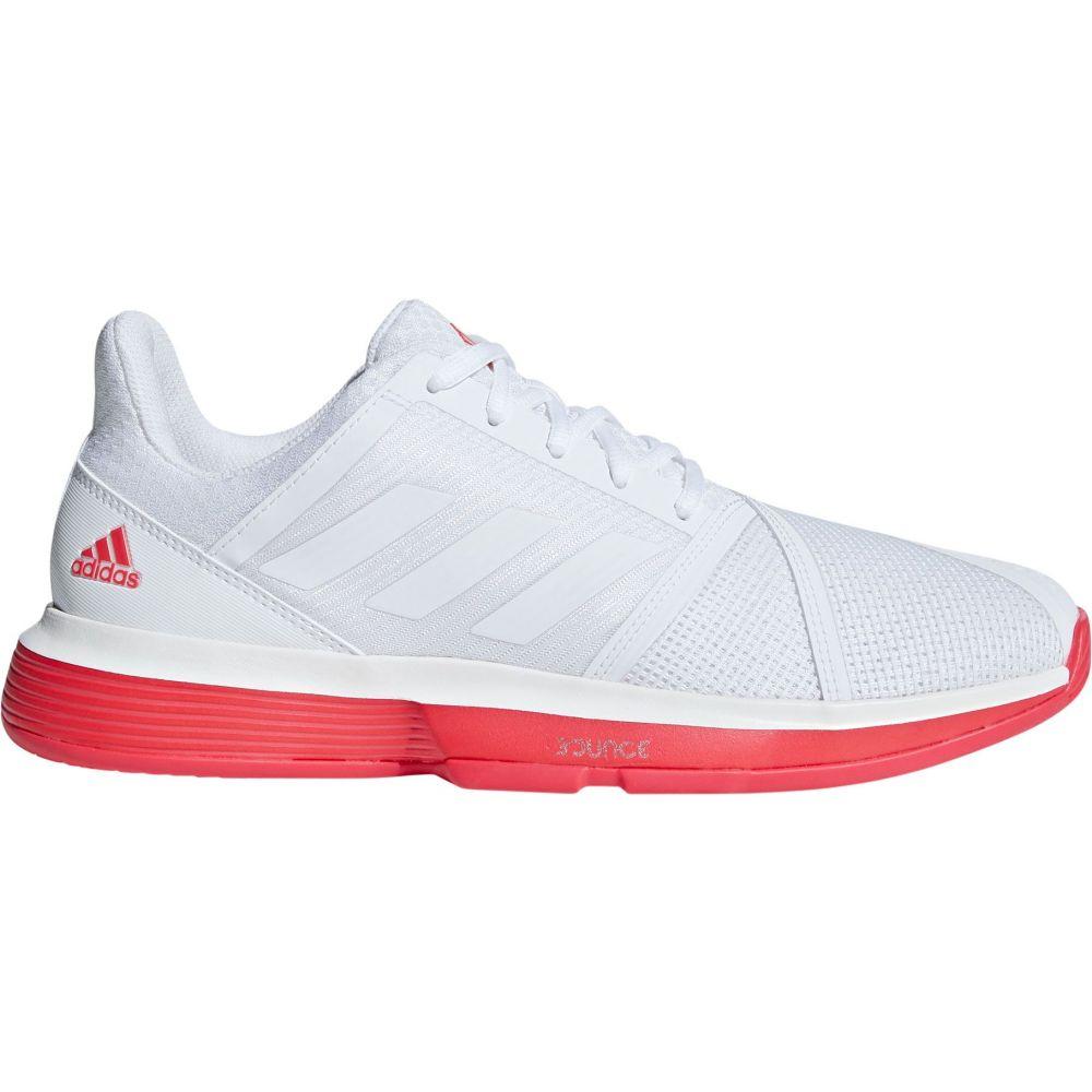 アディダス adidas メンズ テニス シューズ・靴 アディダス メンズ【CourtJam Bounce Tennis Black Shoes】White Red Black, リアル:23147906 --- officewill.xsrv.jp