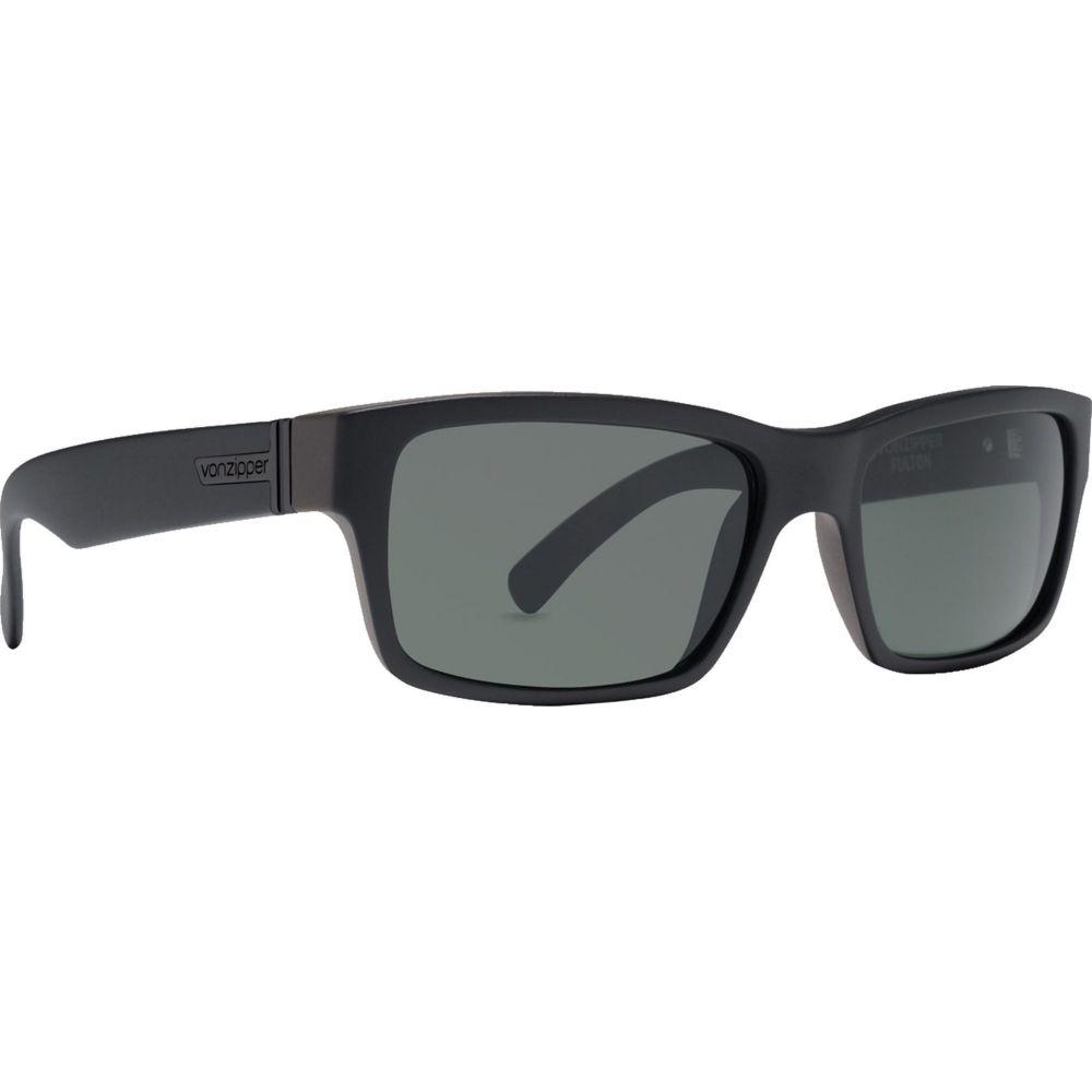 ボンジッパー VonZipper メンズ メガネ・サングラス 【fulton sunglasses】Black/Grey