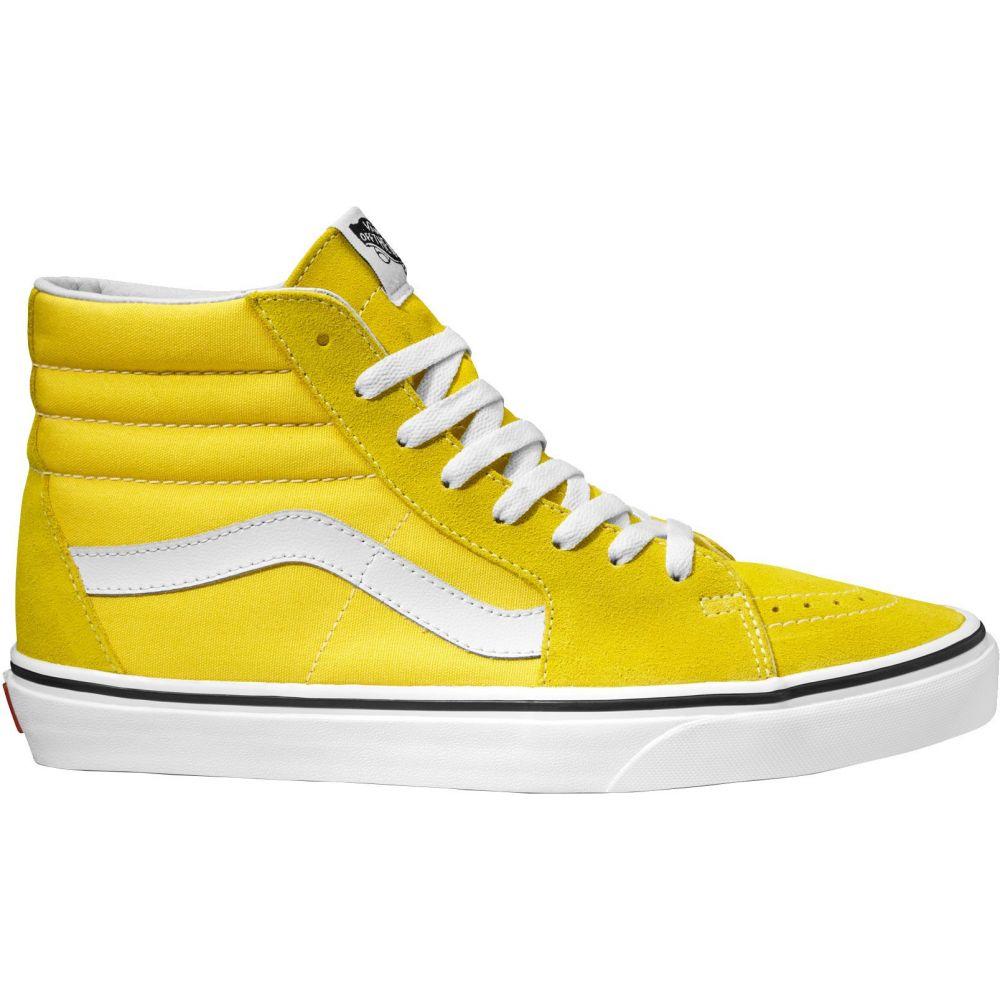 ヴァンズ Vans メンズ スケートボード シューズ・靴【SK8-Hi Shoes】Yellow/White