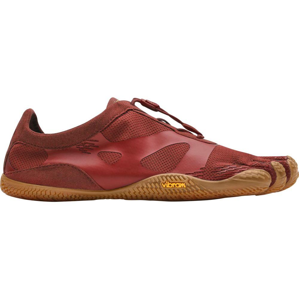 ビブラム Vibram レディース ランニング・ウォーキング シューズ・靴【fivefingers kso evo running shoes】Burgundy