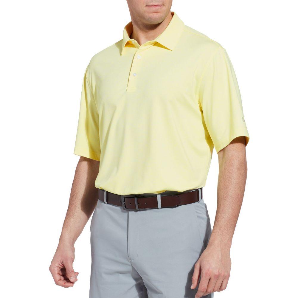 最新な ウォルターヘーゲン Yellow Walter Hagen Majors メンズ ゴルフ トップス【11 トップス【11 Majors Championship Stripe Golf Polo】Neon Yellow, 超人気高品質:e4575521 --- shoplelo.in